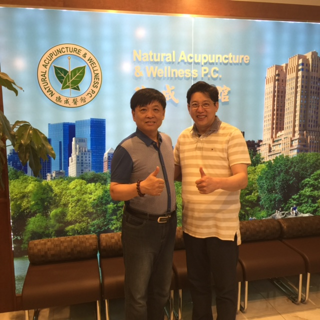 Dr. Li, Jianmin visited Decheng Medical Center on June 23, 2015