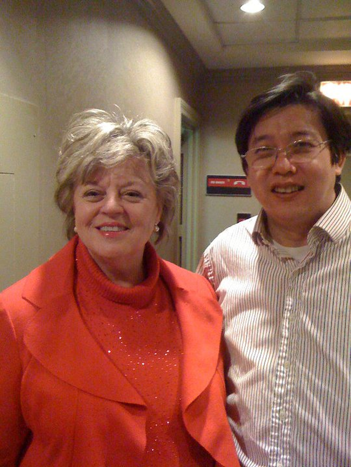 Marilyn Allen, president of the Acupuncture Today