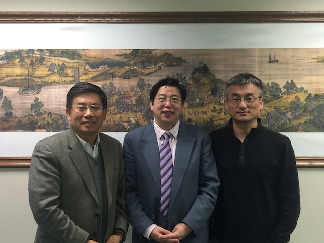 From February 3rd to 6th, 2017, teaching Chinese Medicine Doctors Class at the American Academy of Acupuncture and Oriental Medicine in Minnesota for a doctoral degree in Chinese medicine, accompanied by professor gong chang zhen(professor of the American