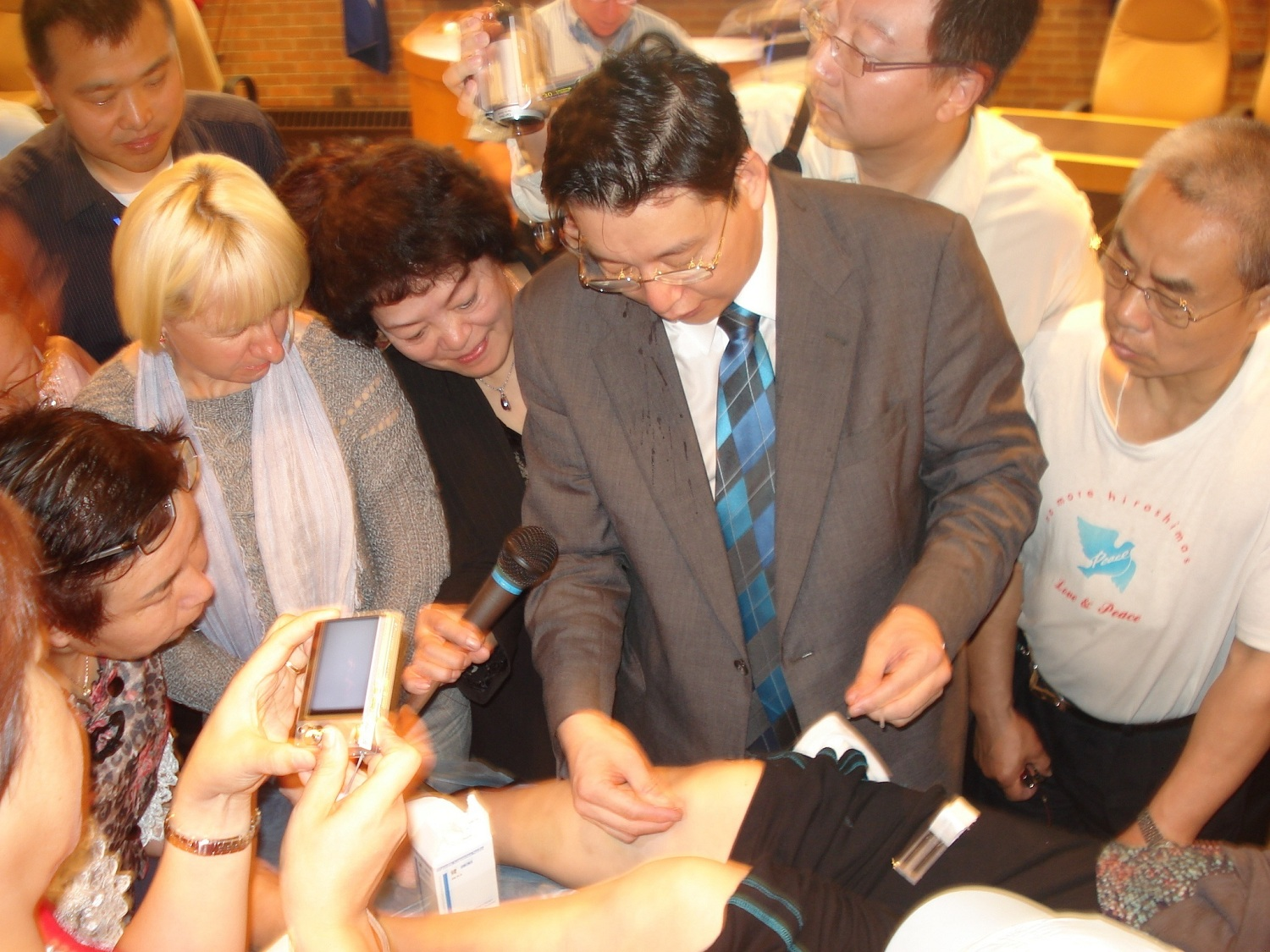 Dr. Chen was in the International Acupuncture conference